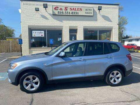 2012 BMW X3 for sale at C & S SALES in Belton MO