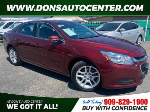 2015 Chevrolet Malibu for sale at Dons Auto Center in Fontana CA