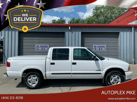 2004 Chevrolet S-10 for sale at Autoplexmkewi in Milwaukee WI