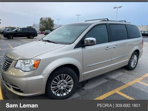 2013 Chrysler Town and Country for sale at Sam Leman Chrysler Jeep Dodge of Peoria in Peoria IL