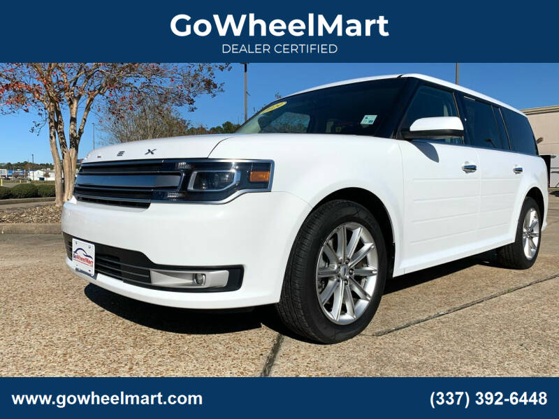 2019 Ford Flex for sale at GoWheelMart in Leesville LA