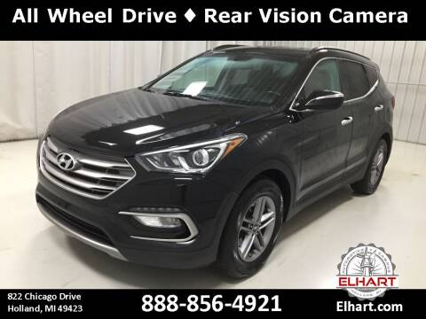 2017 Hyundai Santa Fe Sport for sale at Elhart Automotive Campus in Holland MI