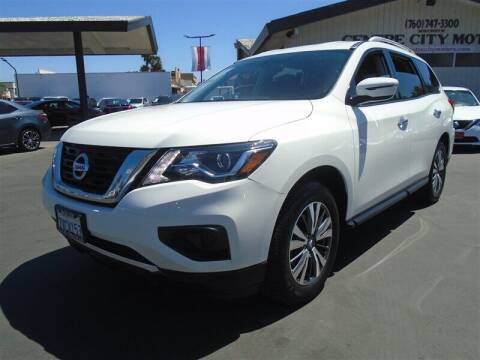 2017 Nissan Pathfinder for sale at Centre City Motors in Escondido CA
