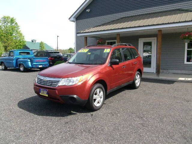 2010 Subaru Forester for sale at Lakes Region Auto Source LLC in New Durham NH