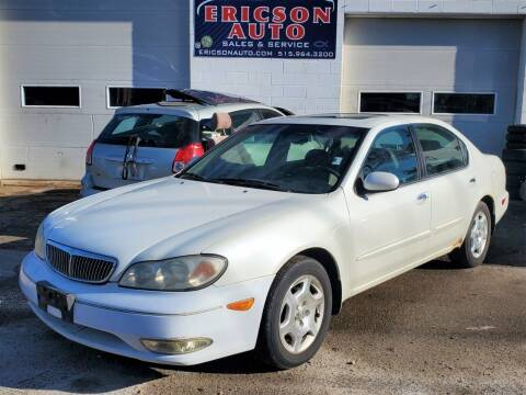 2001 Infiniti I30 for sale at Ericson Auto in Ankeny IA