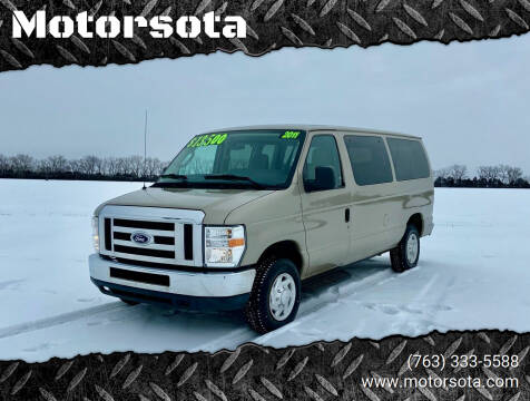 2011 Ford E-Series Wagon for sale at Motorsota in Becker MN