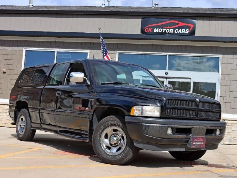 1996 Dodge Ram Pickup 1500 for sale at CK MOTOR CARS in Elgin IL