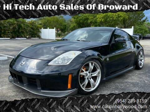 2008 Nissan 350Z for sale at Hi Tech Auto Sales Of Broward in Hollywood FL