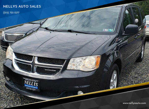2012 Dodge Grand Caravan for sale at NELLYS AUTO SALES in Souderton PA