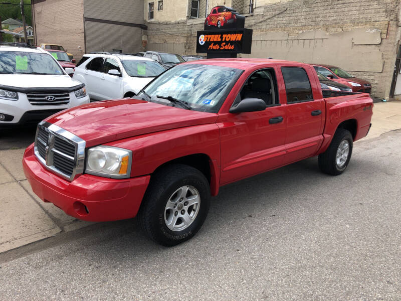 2005 Dodge Dakota for sale at STEEL TOWN PRE OWNED AUTO SALES in Weirton WV