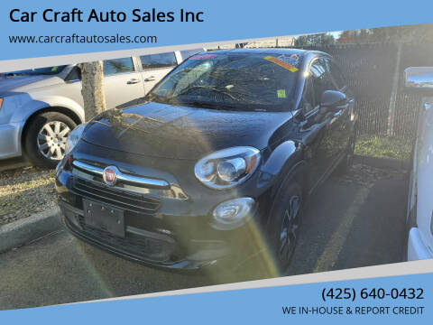 2016 FIAT 500X for sale at Car Craft Auto Sales Inc in Lynnwood WA