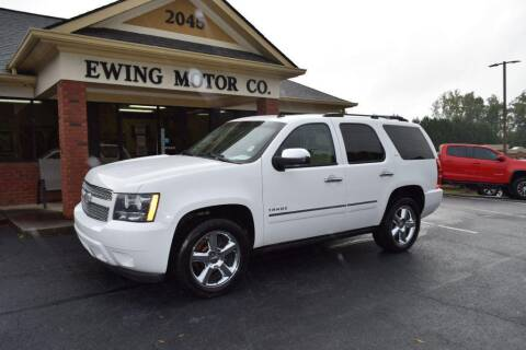 2012 Chevrolet Tahoe for sale at Ewing Motor Company in Buford GA