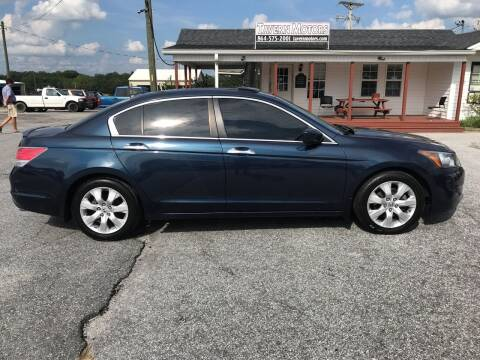 2010 Honda Accord for sale at TAVERN MOTORS in Laurens SC
