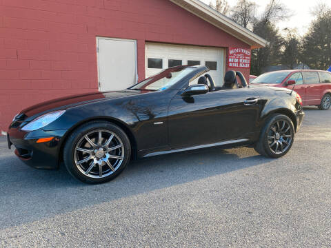 2008 Mercedes-Benz SLK for sale at R & R Motors in Queensbury NY