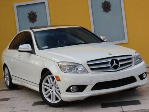 2009 Mercedes-Benz C-Class for sale at Paradise Motor Sports LLC in Lexington KY