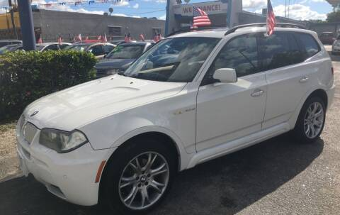2008 BMW X3 for sale at AUTO PROVIDER in Fort Lauderdale FL