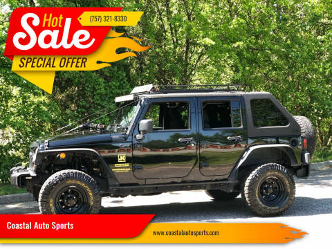 2011 Jeep Wrangler Unlimited for sale at Coastal Auto Sports in Chesapeake VA