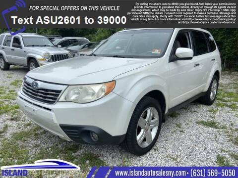 2009 Subaru Forester for sale at Island Auto Sales in East Patchogue NY