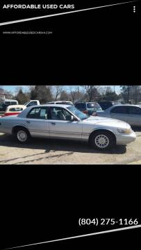 1997 Mercury Grand Marquis for sale at AFFORDABLE USED CARS in Richmond VA