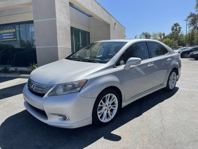 2010 Lexus HS 250h for sale at AutoHaus in Colton CA