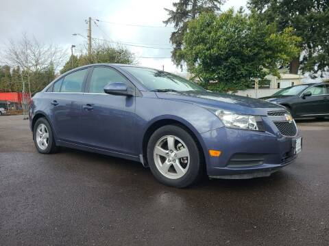 2013 Chevrolet Cruze for sale at Universal Auto Sales in Salem OR