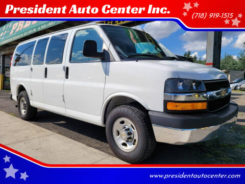 2016 Chevrolet Express Passenger for sale at President Auto Center Inc. in Brooklyn NY
