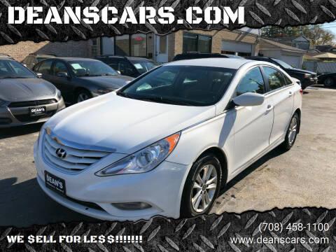 2013 Hyundai Sonata for sale at DEANSCARS.COM in Bridgeview IL