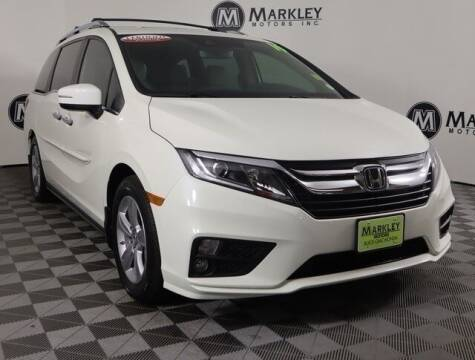 2019 Honda Odyssey for sale at Markley Motors in Fort Collins CO