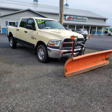 2011 RAM Ram Pickup 2500 for sale at ALL WHEELS DRIVEN in Wellsboro PA