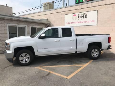 2018 Chevrolet Silverado 1500 for sale at SQUARE ONE AUTO LLC in Murray UT