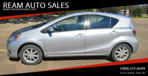 2012 Toyota Prius c for sale at REAM AUTO SALES in Enid OK