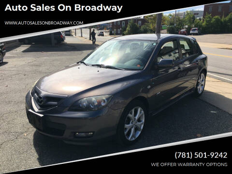 2009 Mazda MAZDA3 for sale at Auto Sales on Broadway in Norwood MA