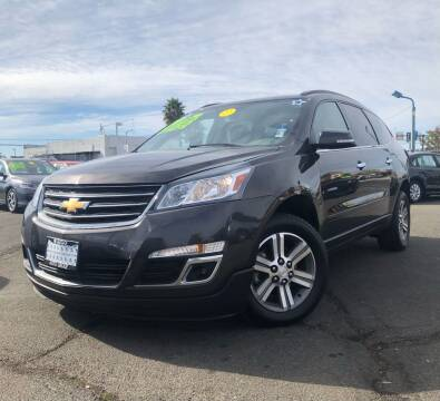 2015 Chevrolet Traverse for sale at LUGO AUTO GROUP in Sacramento CA