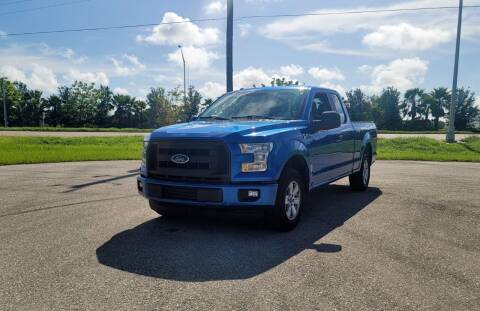 2015 Ford F-150 for sale at FLORIDA USED CARS INC in Fort Myers FL