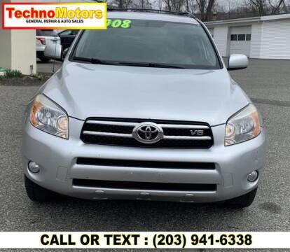2008 Toyota RAV4 for sale at Techno Motors in Danbury CT