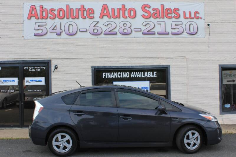 2015 Toyota Prius for sale at Absolute Auto Sales in Fredericksburg VA