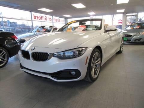 2018 BMW 4 Series for sale at Kar Kraft in Gilford NH
