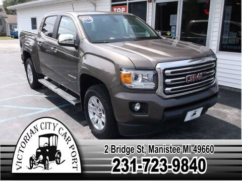 2016 GMC Canyon for sale at Victorian City Car Port INC in Manistee MI