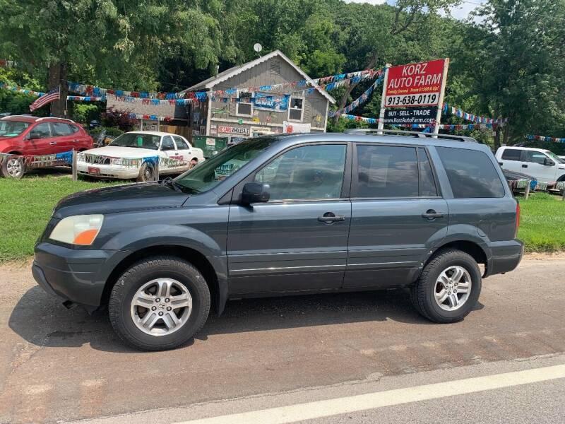 2005 Honda Pilot for sale at Korz Auto Farm in Kansas City KS