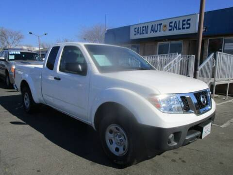 2015 Nissan Frontier for sale at Salem Auto Sales in Sacramento CA