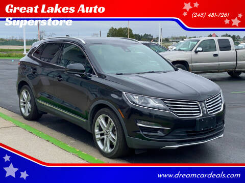 2015 Lincoln MKC for sale at Great Lakes Auto Superstore in Pontiac MI