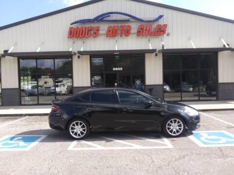 2013 Dodge Dart for sale at DOUG'S AUTO SALES INC in Pleasant View TN