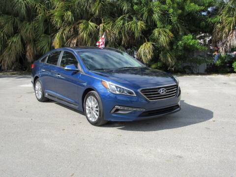 2015 Hyundai Sonata for sale at United Auto Center in Davie FL