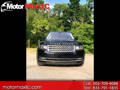 2016 Land Rover Range Rover for sale at Motor Max Llc in Louisville KY