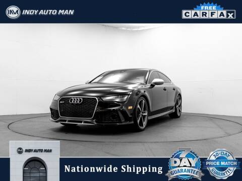 2016 Audi RS 7 for sale at INDY AUTO MAN in Indianapolis IN