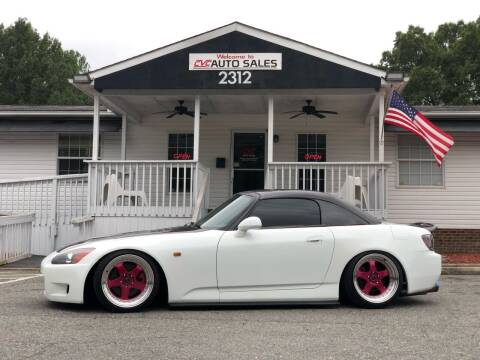 2001 Honda S2000 for sale at CVC AUTO SALES in Durham NC