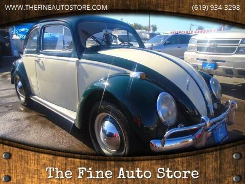 1967 Volkswagen Beetle for sale at The Fine Auto Store in Imperial Beach CA
