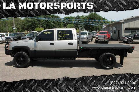 2006 Chevrolet Silverado 2500HD for sale at LA MOTORSPORTS in Windom MN