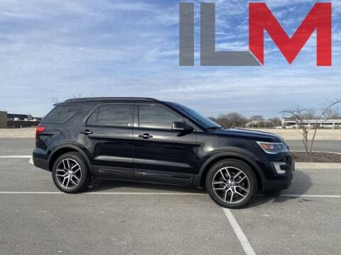 2016 Ford Explorer for sale at INDY LUXURY MOTORSPORTS in Fishers IN