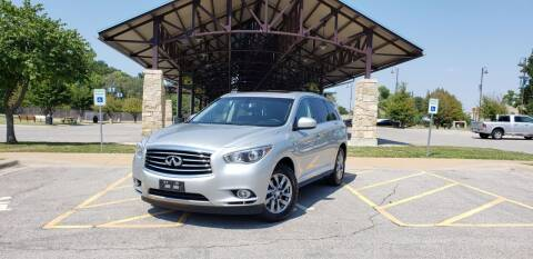 2015 Infiniti QX60 for sale at D&C Motor Company LLC in Merriam KS